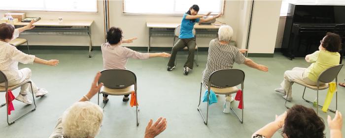 高齢者への運動指導
